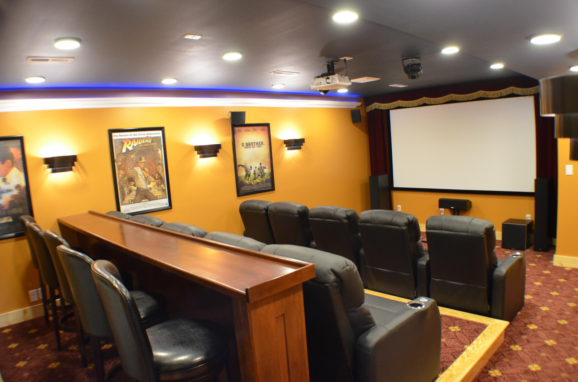 custom home theater in virginia bespoke home