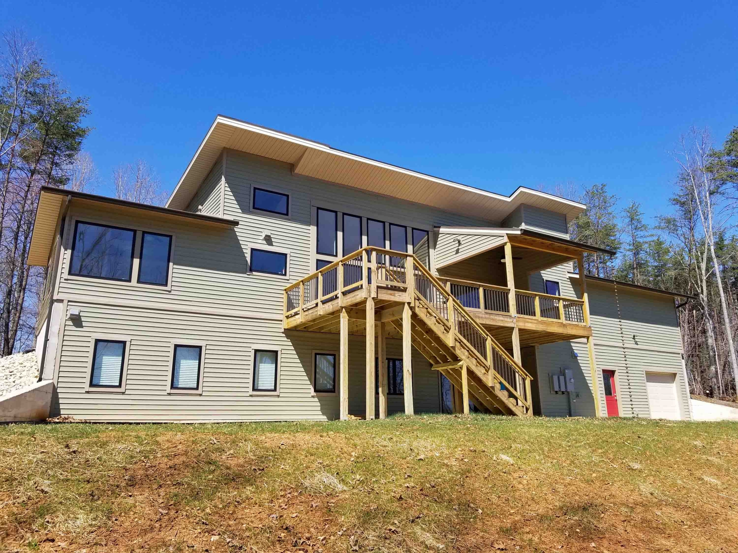 custom home near Smith Mountain Lake VA featuring high performance systems and advanced framing by Timber Ridge Craftsmen Inc