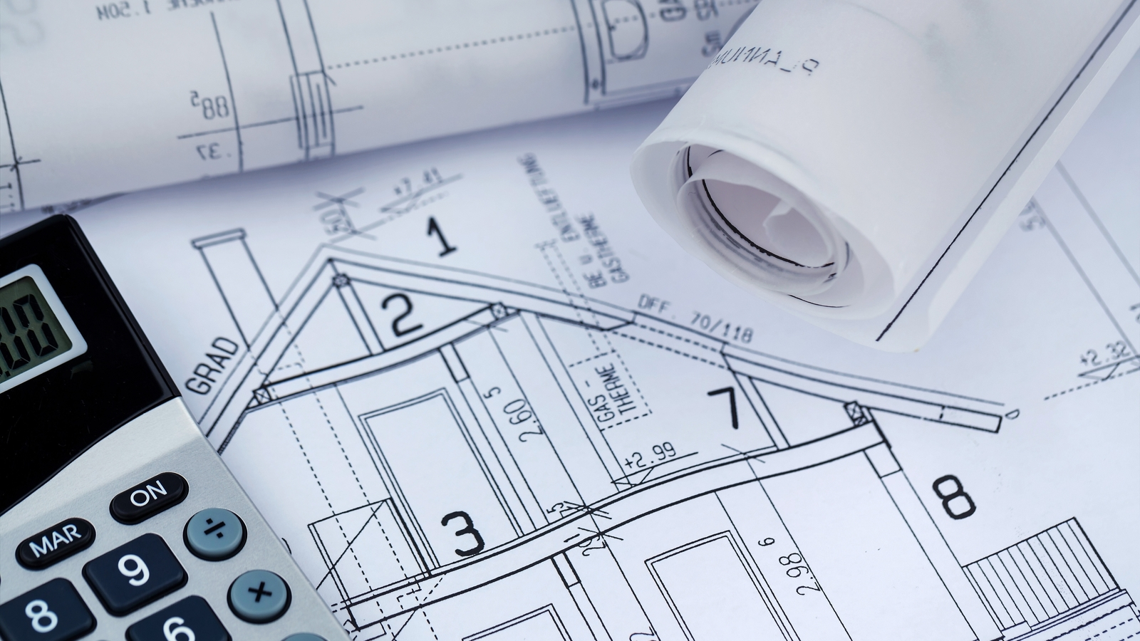 House Plans with Calculator