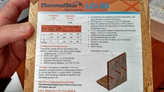 example of continuous insulated sheathing made by Thermal Star; this is a picture of their above-grade product LCi-SS